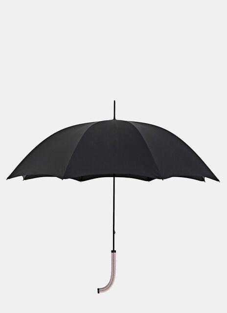 Ruuger 'Stealth Umbrella' Regenschirm aus Kalbsleder