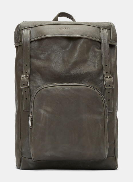 Tuscany Washed Leather Hunter Backpack