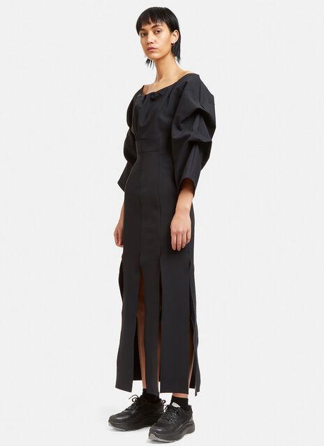 Jellyfish Long Slit Dress