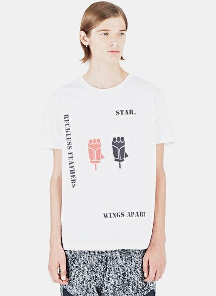 Image of Aganovich Stenca Print T-Shirt