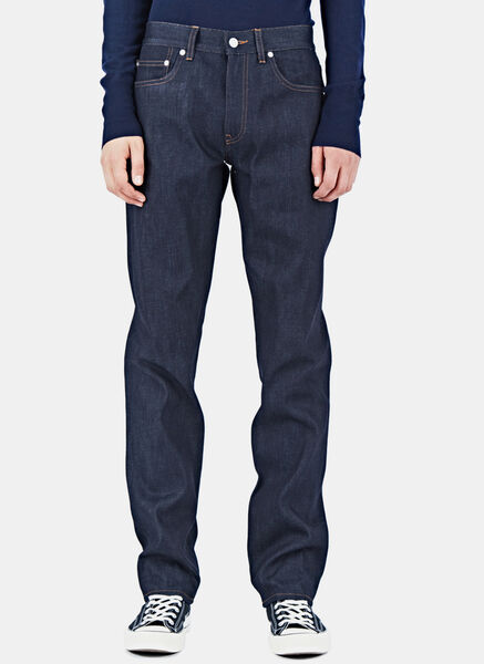 Image of Acne Studios Ash Raw Jeans