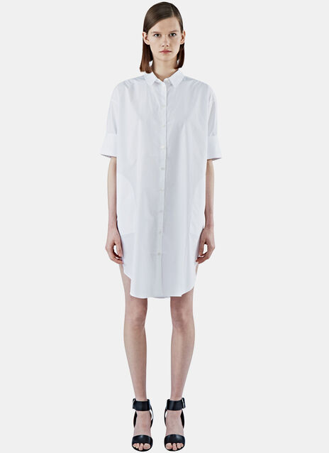 Lash Long Poplin Shirt Dress