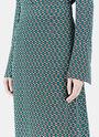 Mid-Length Patterned Skirt