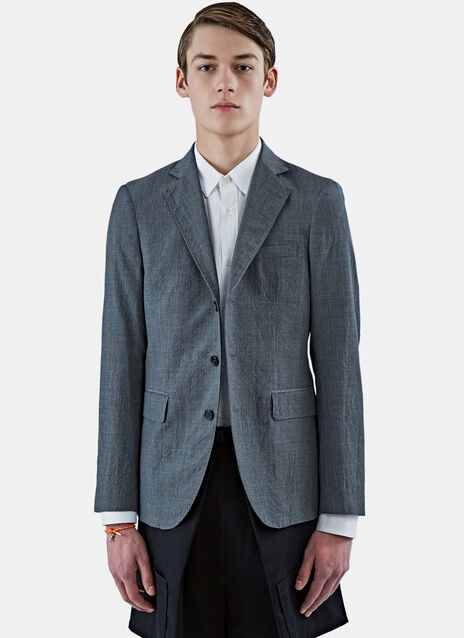 Creased Blazer Jacket