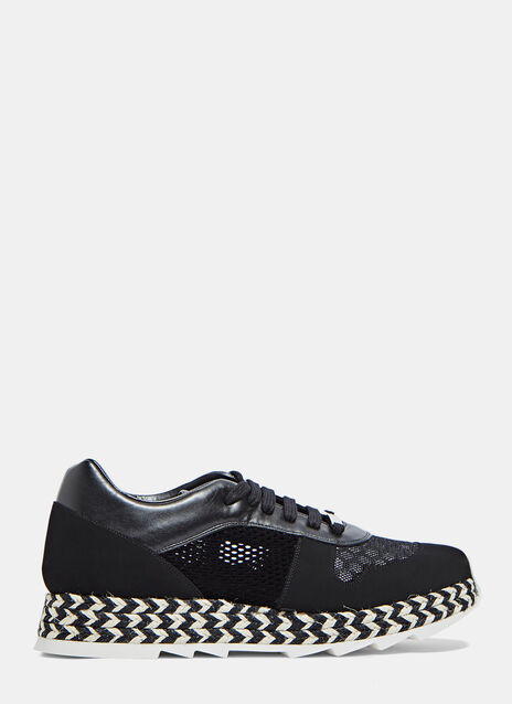 Macy Woven Mesh Sneakers