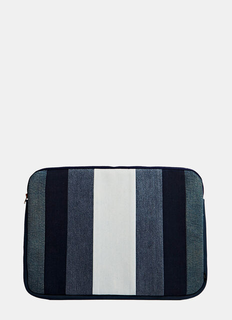 Schmidttakahashi Denim Laptop Hülle 13