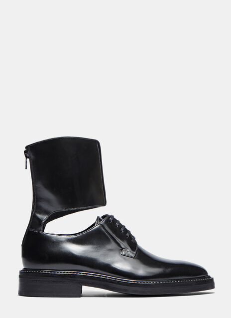 Ankle Cuffed Derby Shoes