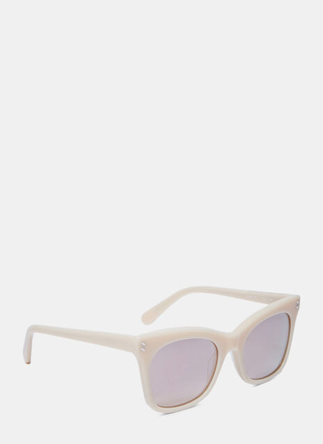Squared Mirrored Sunglasses