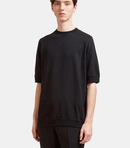 AIEZEN Short Sleeved Wool Sweatshirt