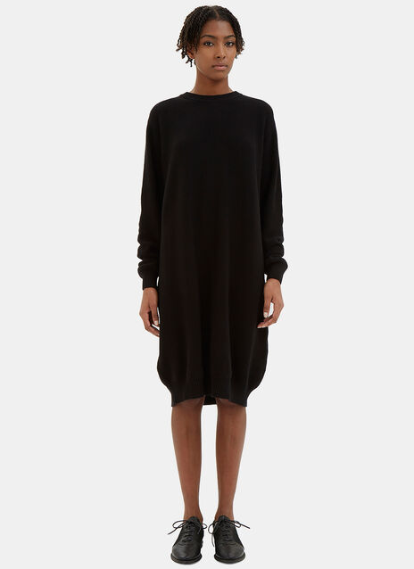 See You There Waffle Knit Sweater Dress