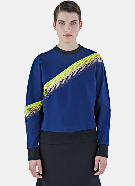 Asymmetric Looped Sweater