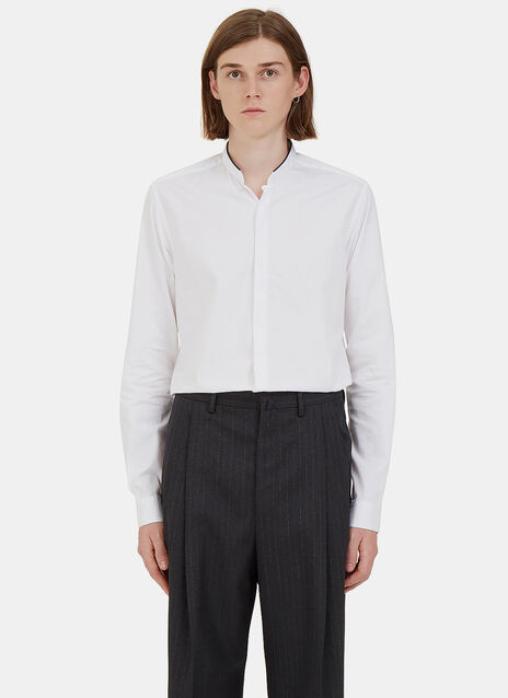 High Stand Collared Shirt