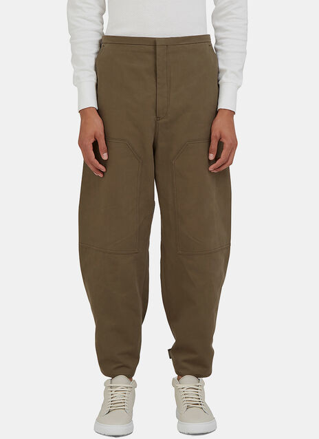 Phase Cropped Work Pants
