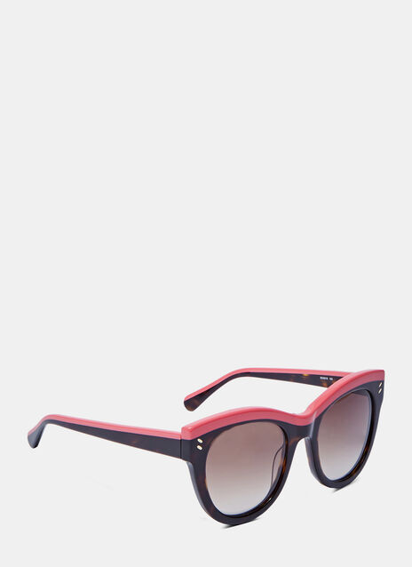 Classic Oversized Tortoiseshell Sunglasses