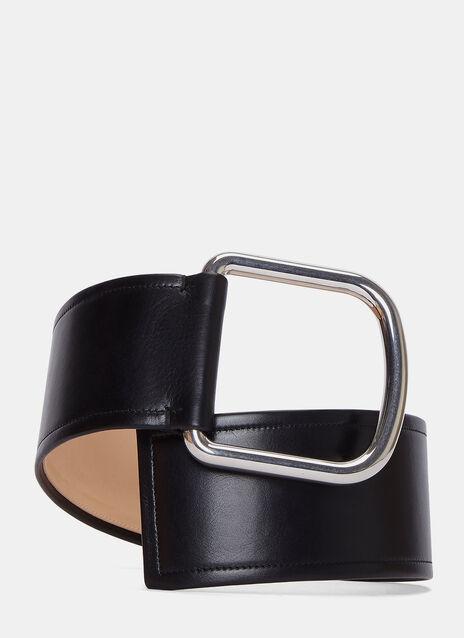 Volt Wide Leather Waist Belt