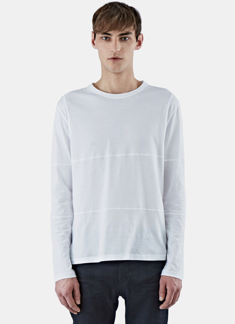 Long Sleeved T-Shirt With Flat Pocket