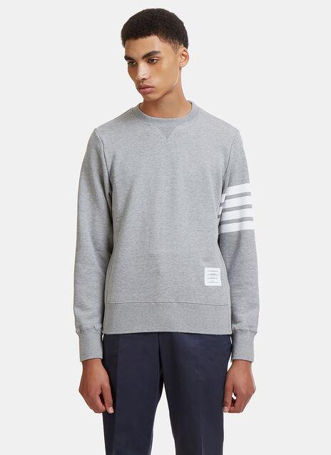 4 Bar Crew Neck Sweater