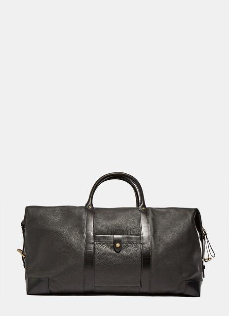 Icon Leather Weekender Bag