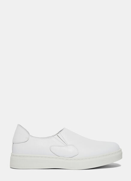 Image of Achilles Ion Gabriel Slip-On Leather Sneakers