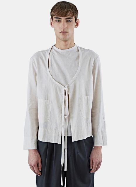 Dusk Wrap-Over Shirt