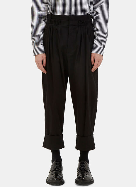 Oversized Pleated Balloon Pants