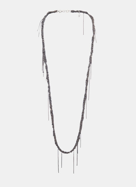 The 33 Convertible Midnight Necklace and Bracelet