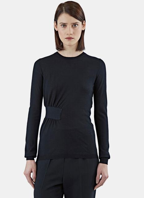 Gathered Volume Sweater