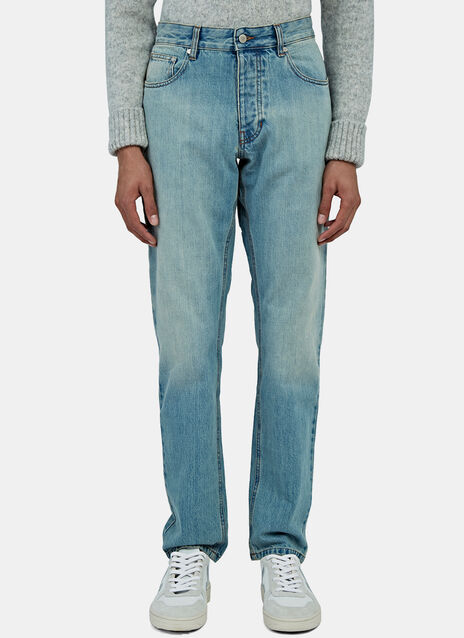 AMI Fit Straight Cut Jeans