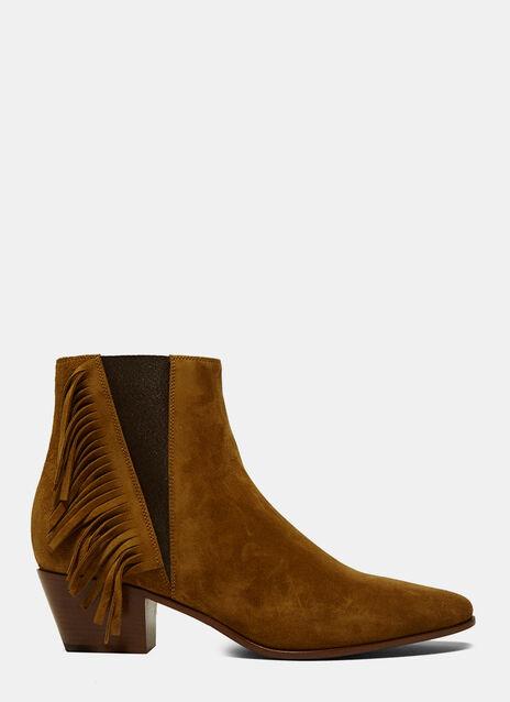 Tasselled Chelsea Boots