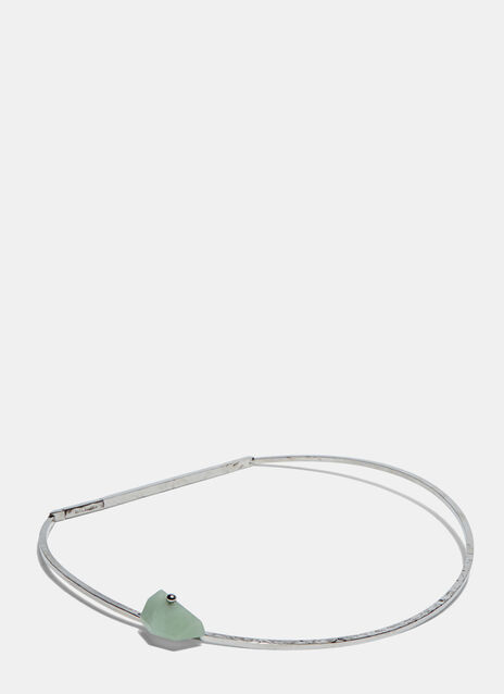 Silo Avent Green Aventurine Choker Necklace