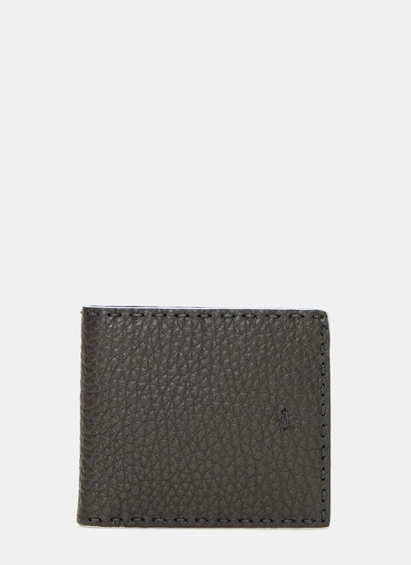 Roman Pebble Grained Fold Wallet
