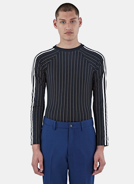 Maximillian Striped Band Sweater