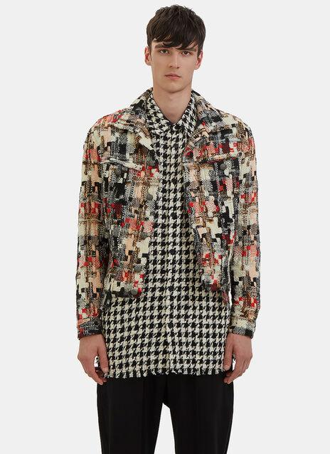 Multicolour Tweed Jacket