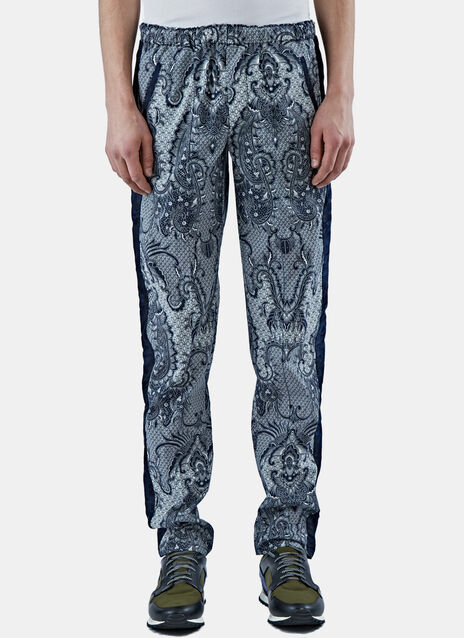Paisley Print Sweatpants