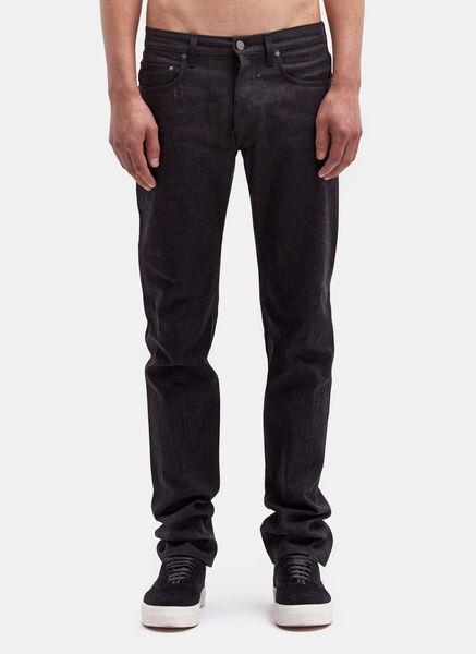 Image of Acne Men's Nolan Raw Jeans
