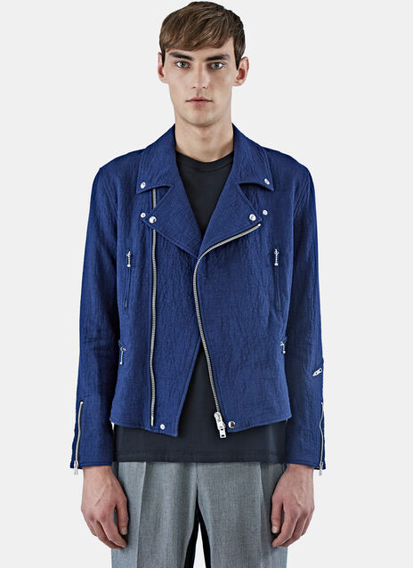Textured Perfecto Jacket