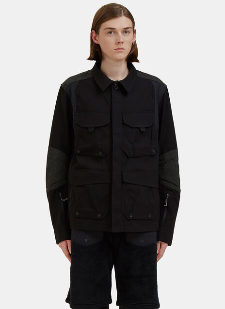 Field Layer Cargo Pocket Jacket