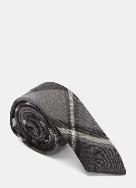 Winter Madras Twill Tie