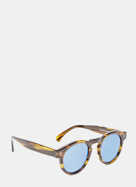 Leonard Eco Olive Stripes Sunglasses