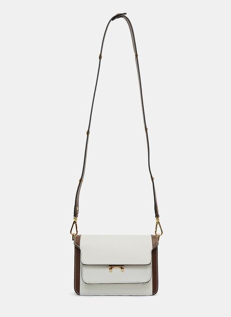 Bi-Colour Mini Trunk Shoulder Bag