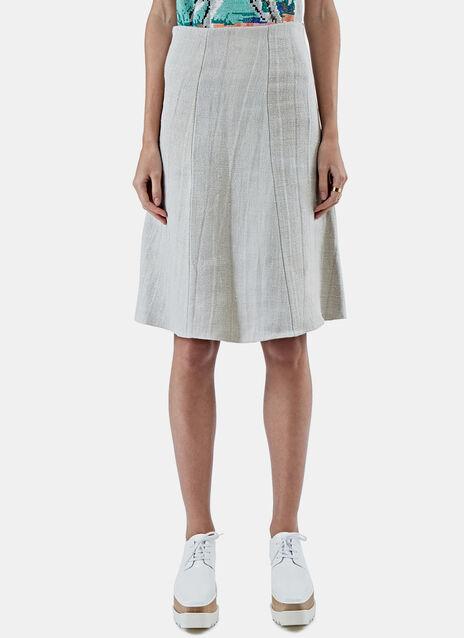 A-Line Egg Skirt