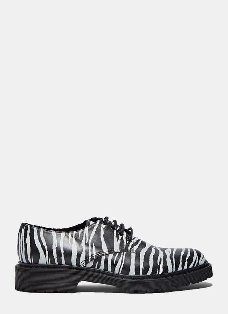 Army 25 Zebra Derby Shoes
