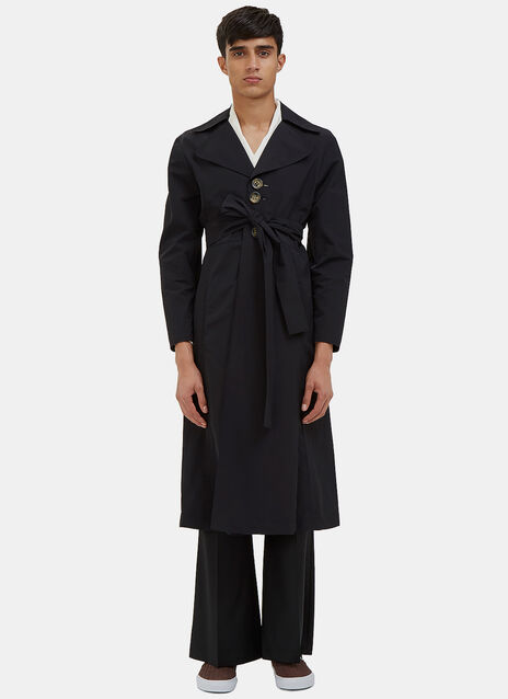 Kojo Mid-Length Windbreaker Coat