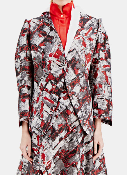 Image of Aganovich Printed Woven Jacket