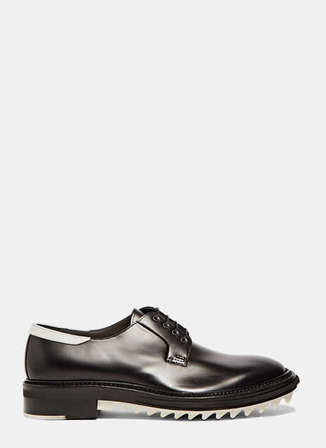 Sawtotth Leather Derby Shoes