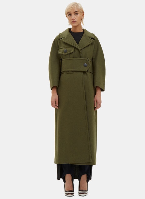 Oversized Long Double-Faced Coat