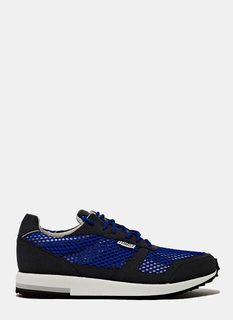LUNGE TRAINER CLASSIC RUN IN BLUE NET AND BLACK DETAILS