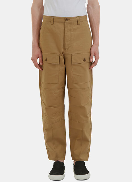 Pat Twill Utility Pants