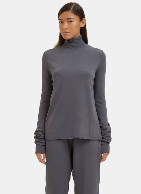 Fluid Roll Neck Sweater
