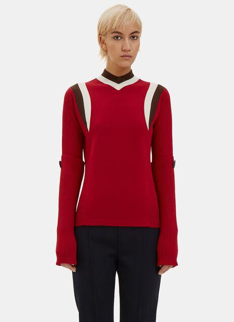 Sports Knit Sweater